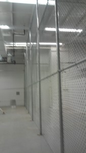 High warehouse cage example